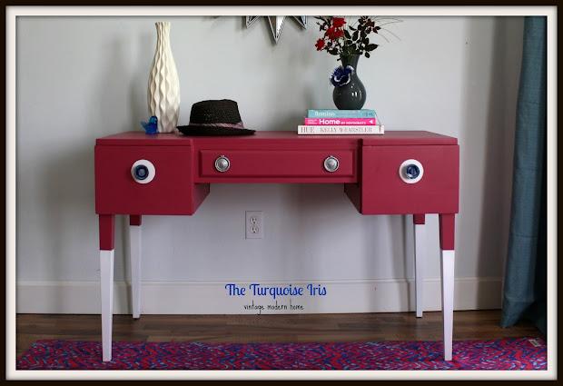 Turquoise Iris Furniture & Art Mid Century