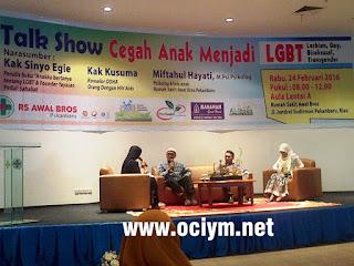 Talkshow Cegah Anak Jadi LGBT di Pekanbaru