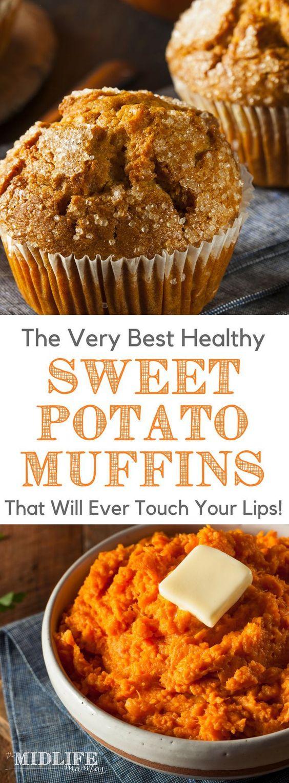 Magical Sweet Potato Muffins
