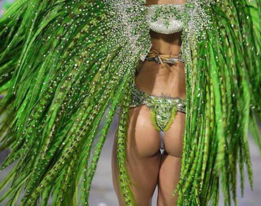 The carnival is continuing over the weekend across Brazil as visitors from across the globe arrive to join in the fun.
