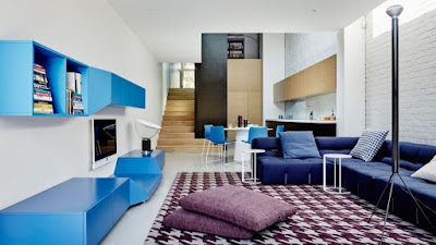 Ciptakan Suasana Sejuk dengan 40 Desain Ruang Tamu Nuansa Biru