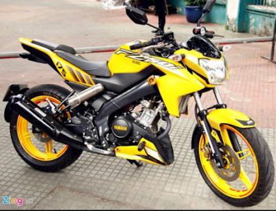 Modifikasi Motor Vixion 2016
