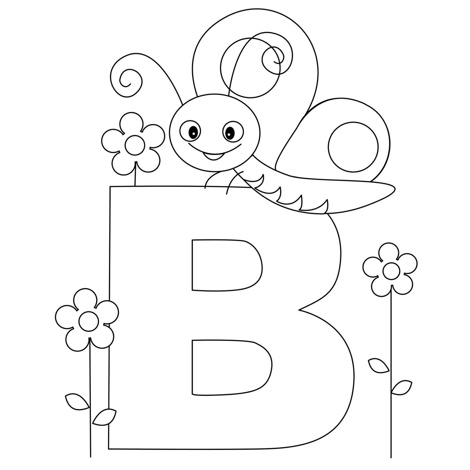 Excellent Alphabet Coloring Pages