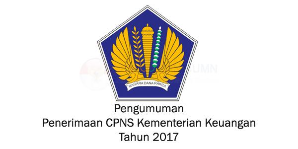Penerimaan CPNS Kementerian Keuangan Tahun 2017