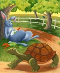 """कछुआ और खरगोश"""" कहानी एक नये अन्दाज़ में, Rabbit/hare and Tortoise hindi story"""