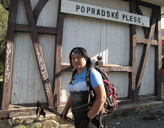 Popradske Pleso, przystanek (1246 m npm).