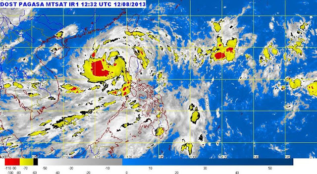 Typhoon Labuyo Satellite Image Update