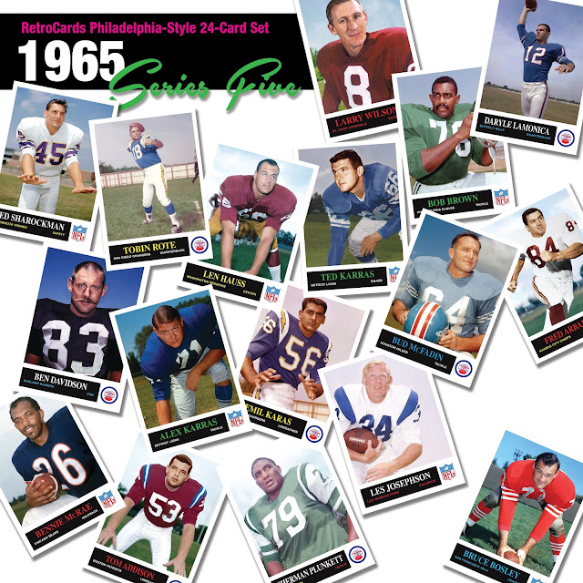 1965 topps NFL football cards that never were