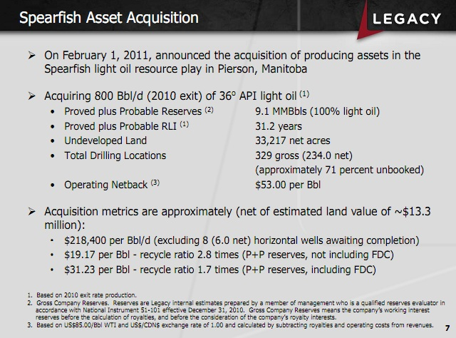 Oil and Gas - Mergers and Acquisition Review: Legacy builds