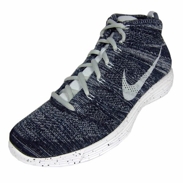 buy online 4e22b 25ec0 Nike Lunar Flyknit Chukka. Squadron Blue, Pure Platinum, Obsidian, White.  554969-400