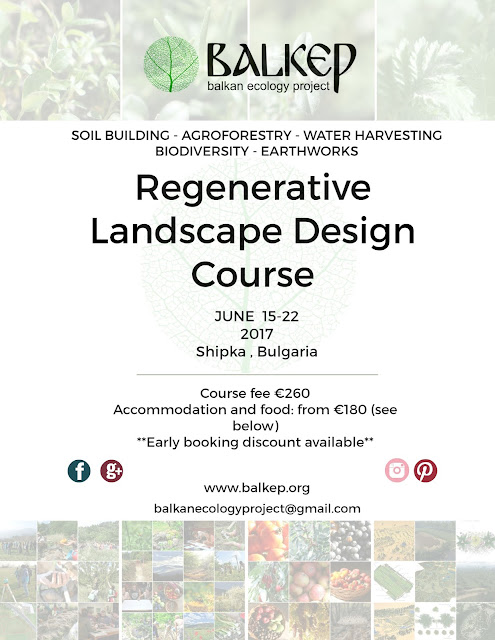 Balkan ecology project the polyculture market garden for Landscape design training