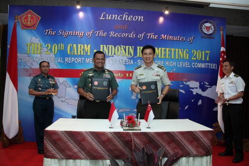 Panglima TNI : Indonesia dan Singapura Ciptakan Perdamaian Kawasan