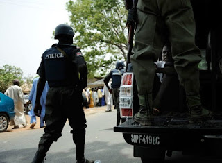 10 KILL, POLICE STATION SET ABLAZE IN FRESH BANK ROBBERY