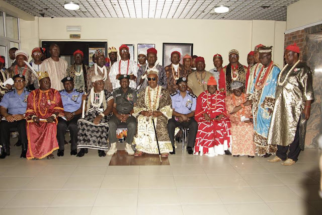 IGBO traditional leaders in diaspora visits  IGP.