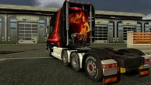Scania T Red Eagle
