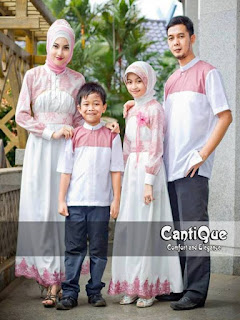 pakaian seragam keluarga untuk lebaran
