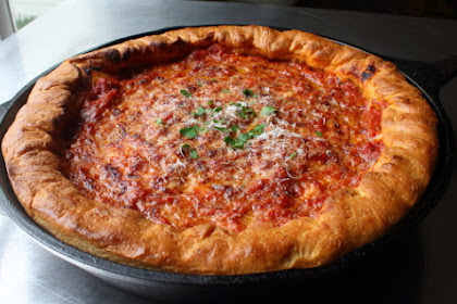 "Chicago Deep Dish Pizza, or ""Pizza"" As We Call It In New York"