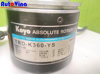 Tài liệu hướng dẫn đấu nối sử dụng Encoder Koyo TRD-K360-YS