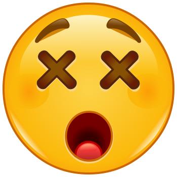 X-Eyes Emoji