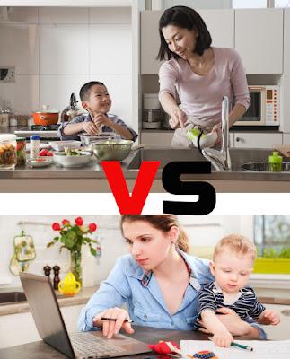 Ibu Bekerja VS Ibu Rumah Tangga