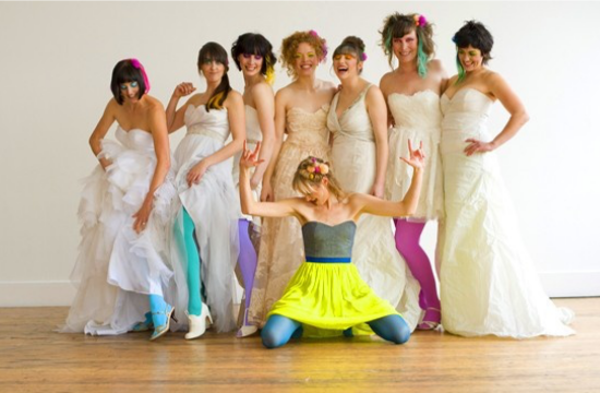 Collant da sposa colorati, colored bridal tights