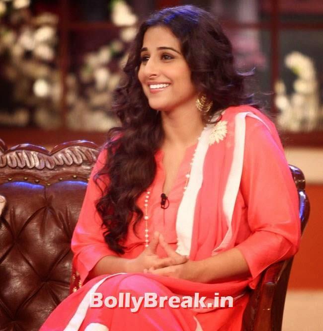 Vidya Balan, Vidya Balan, Dia Mirza Pics from Comedy Nights With Kapil