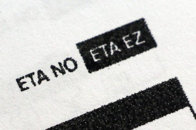 Lema en los documentos oficiales de Barakaldo
