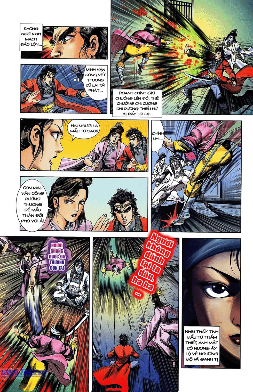 Tần Vương Doanh Chính chapter 12 trang 16