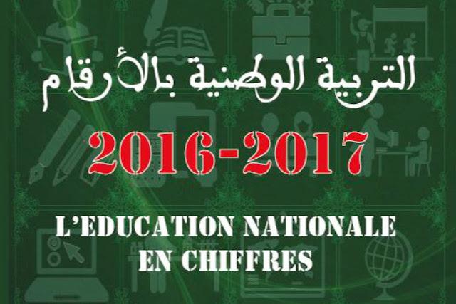 الاصدارات الاحصائية السنوية لوزارة التربية الوطنية برسم موسم 2016-2017