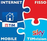 offerta tim smart per telefono e internet, linea fissa, con o senza sky