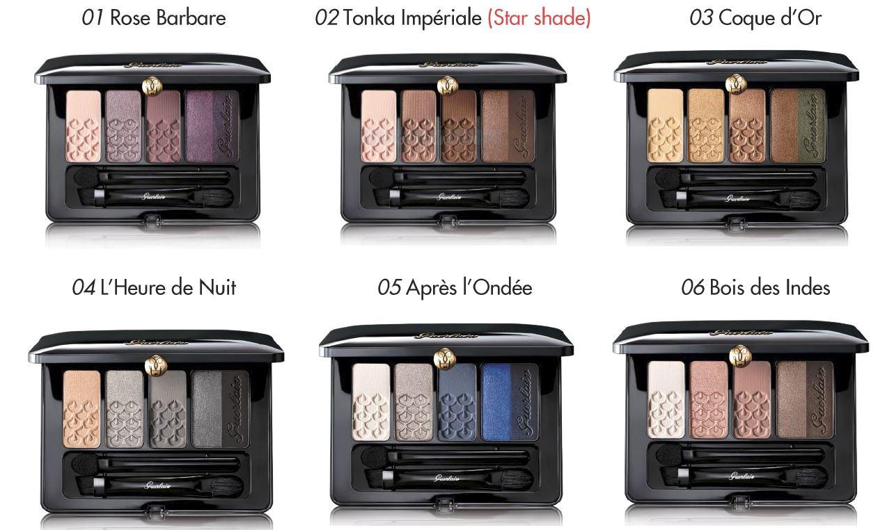 Best Things in Beauty: Guerlain 5 Couleurs Eye Palettes ...