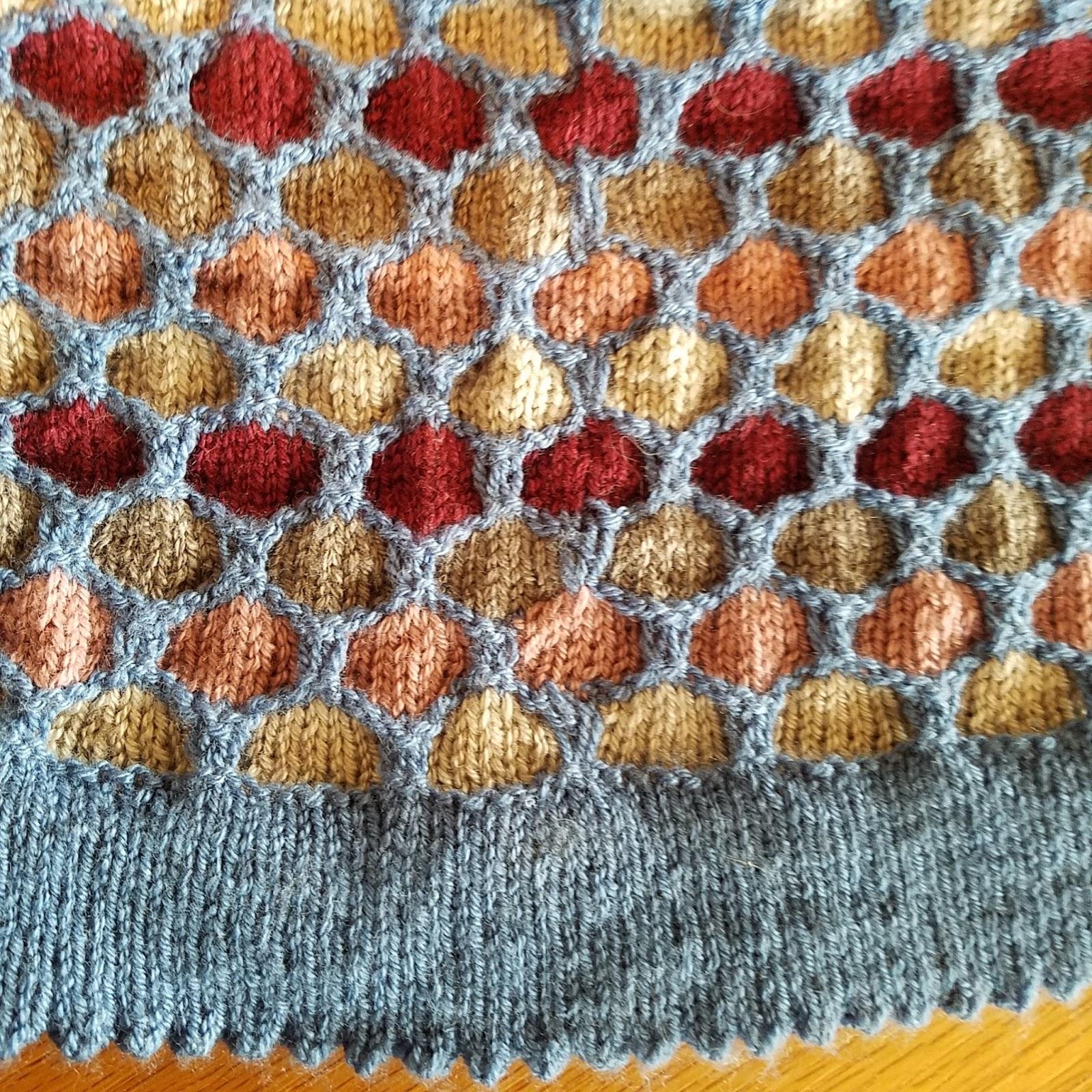 Knice Knitties: Erin Honeycomb Hat
