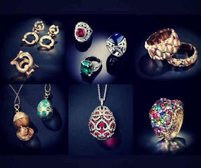 Joias Faberge - Faberge Jewelry - Joalherias Famosas