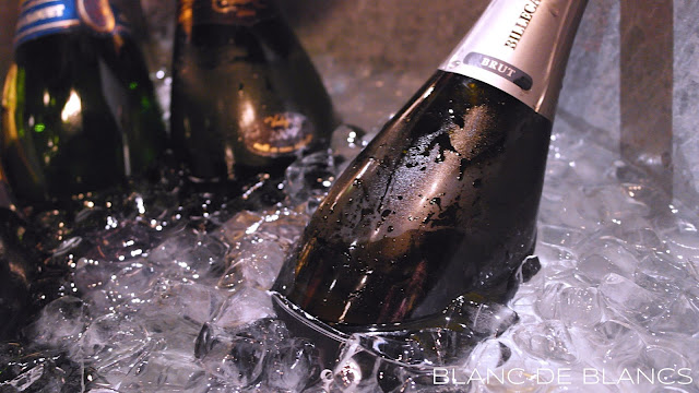 Champagne on ice - www.blancdeblancs.fi
