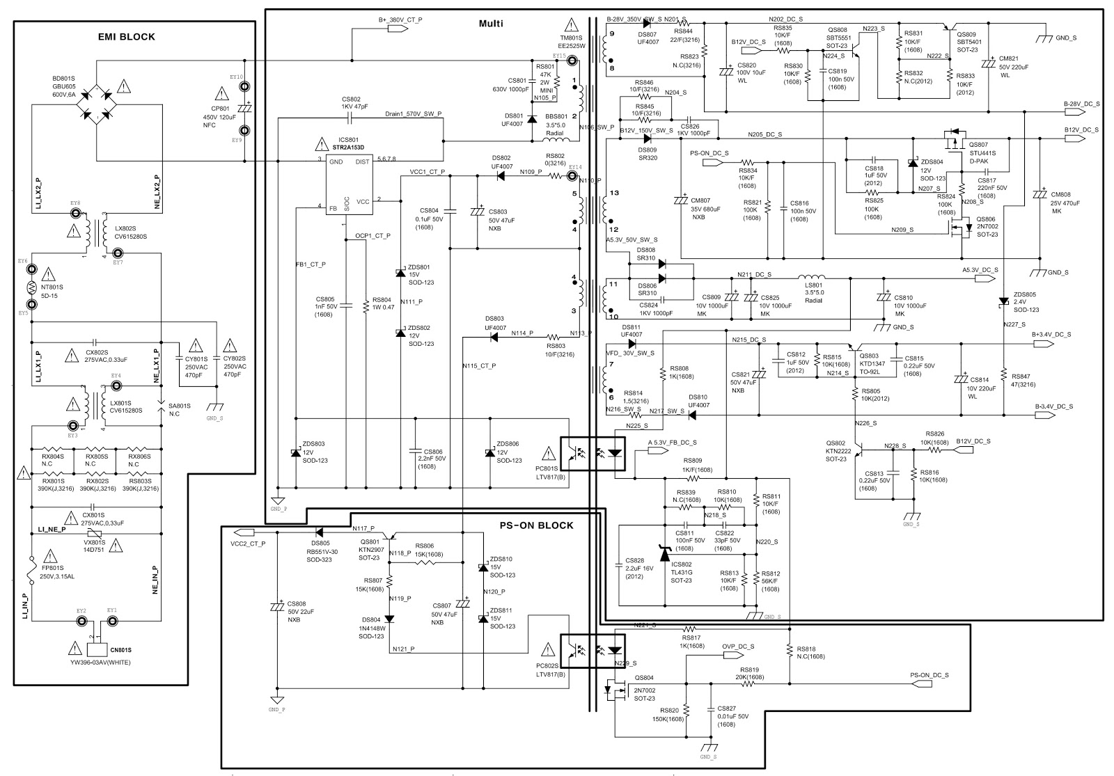 Samsung Mx F630 Power Amplifier And Smps Circuit Diagram