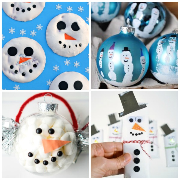 Do you want to build a snowman?  Here are 65 fun ways for kids to do just that!  SNOWMAN CRAFTS FOR KIDS #snowmancrafts #wintercrafts #wintercraftsforkids