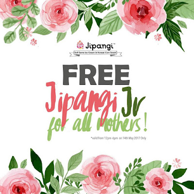 Free Jipangi Jr Soft Serve Ice Cream Giveaway Mother's Day Promo