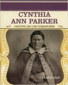 Livro Cynthia Ann Parker -Tracie Egan