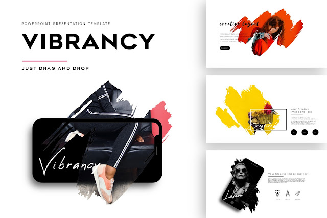 Vibrancy Special Business Portfolios PowerPoint Template