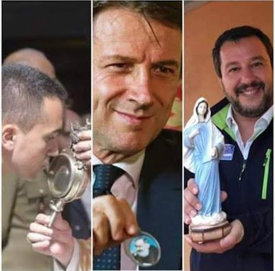 Sondaggi elettorali:   scendono ancora i consensi per Lega e Movimento 5 Stelle