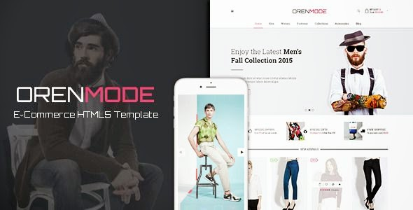 best Ecommerce HTML5 Template 2015