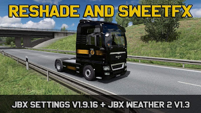 JBX Settings v 1.9.16 Reshade and SweetFX