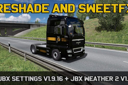 JBX Settings v1.9.16 Reshade and SweetFX