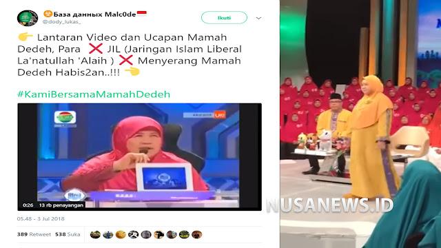 Tidak Setuju dengan Sebutan 'Islam Nusantara', Mamah Dedeh Diserang Habis-habisan