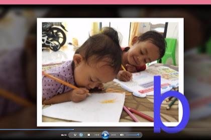 Video  Pembelajaran Mengenal  Huruf  A sampai Z