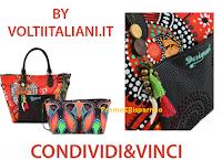 Logo Volti Italiani: Condivdi&Vinci una borsa Desigual