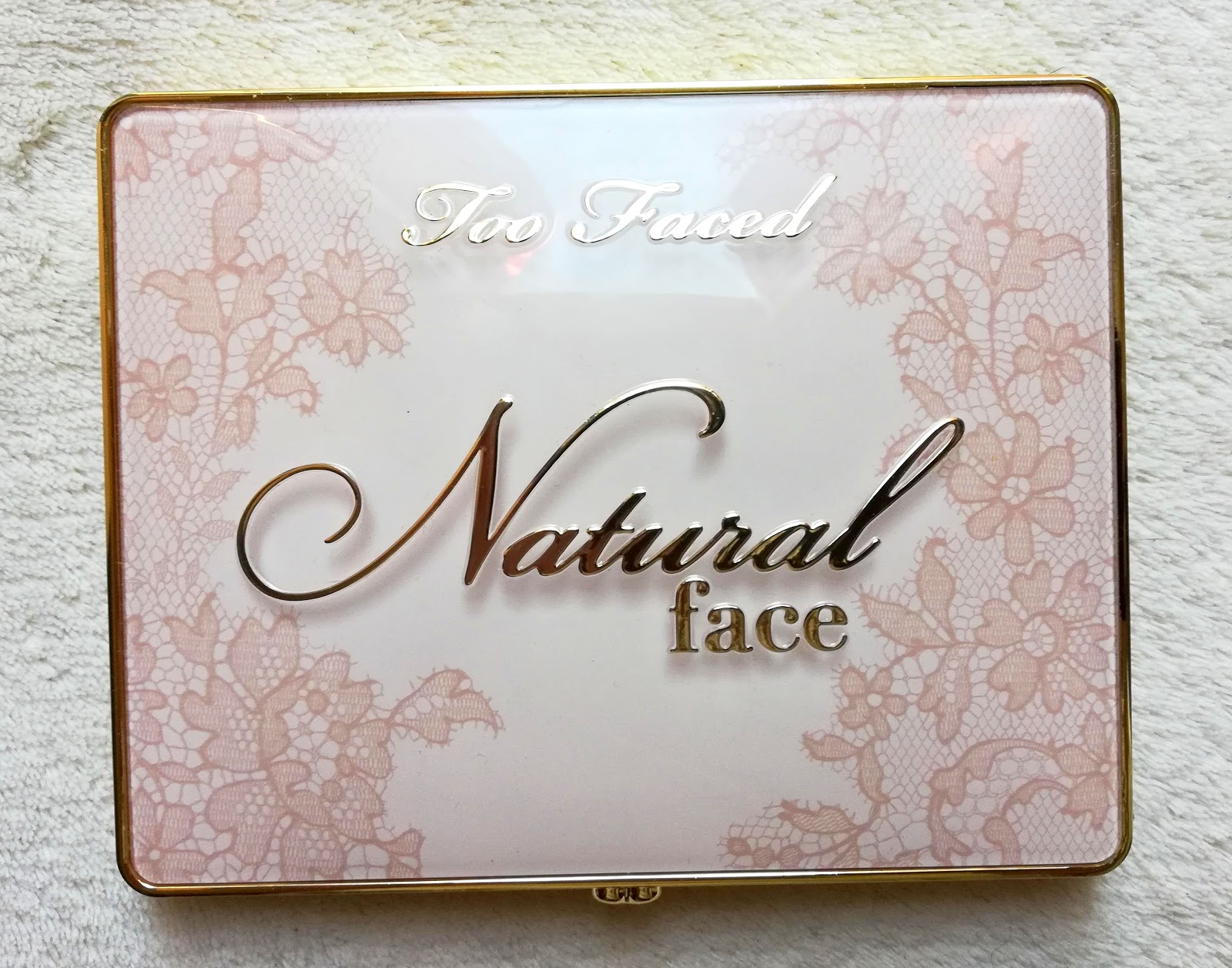 NATURAL FACE / TOO FACED, highlight, blush & bronzing veil face palette