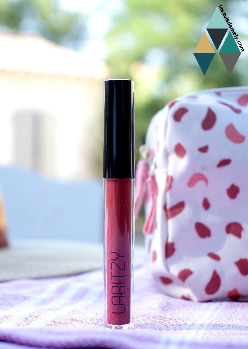 Rouge à lèvres Long lasting liquid lipstick Laritzy : test et avis