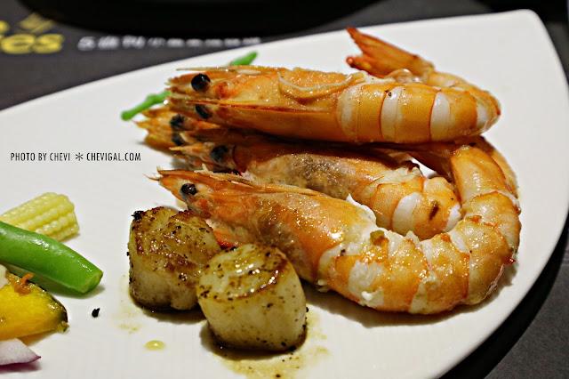 IMG 7746 - 台中大里│Five Ounces 5盎司小富豪鐵板燒*多種新鮮食材可選擇。調味清爽不油膩