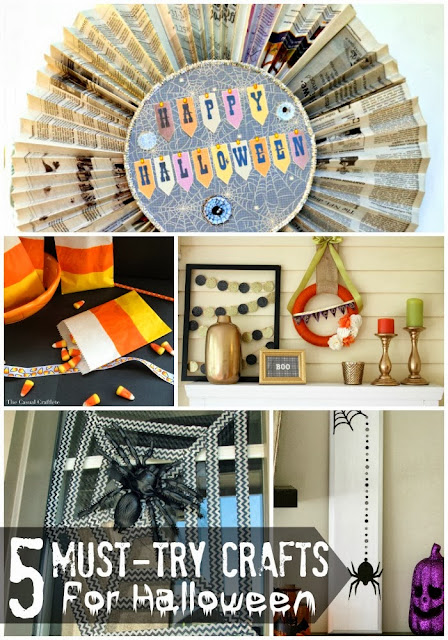 5 must-try crafts for Halloween | #halloween #crafts #diy #holiday